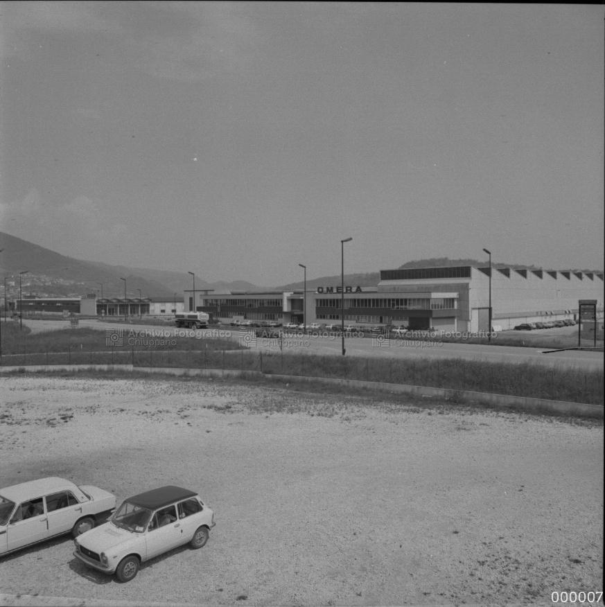Zona industriale. Sullo sfondo la ditta Omera