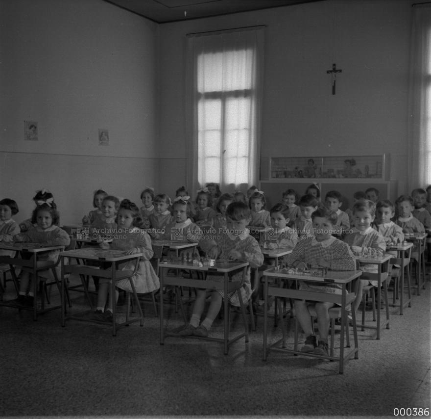 Foto di gruppo di bambini