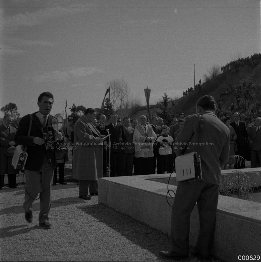 Inaugurazione centrale idroelettrica in località Bessè
