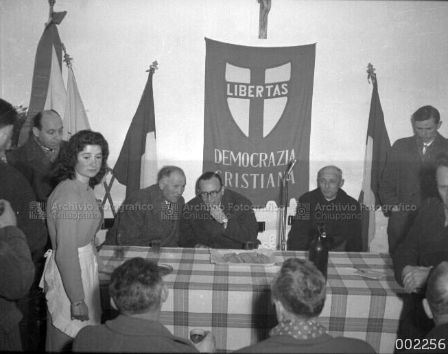 Comizio della Democrazia Cristiana