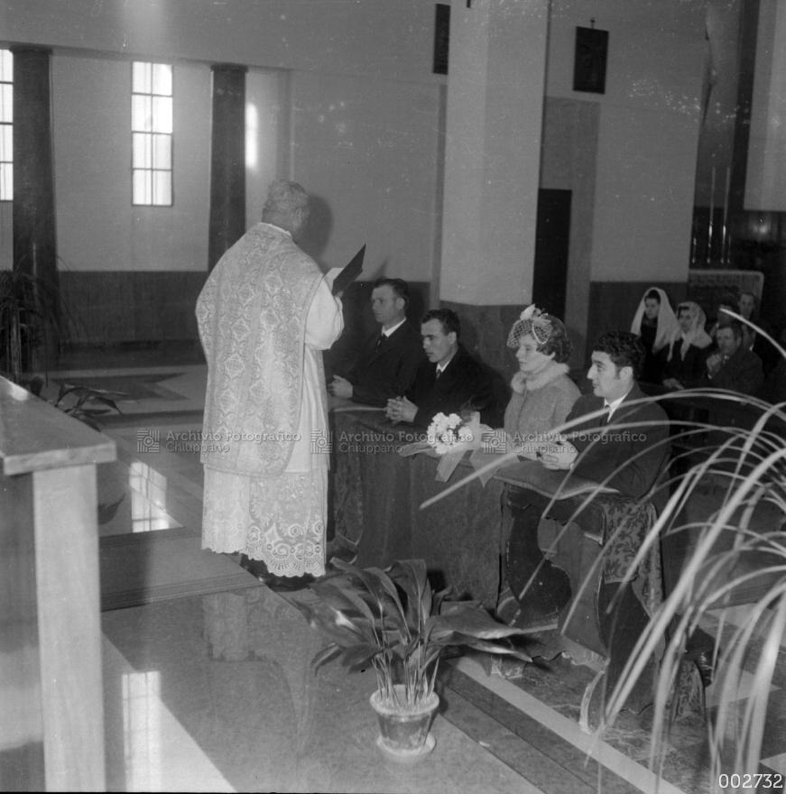 Matrimonio di Terzo Evaristo e Dal Prà Miranda