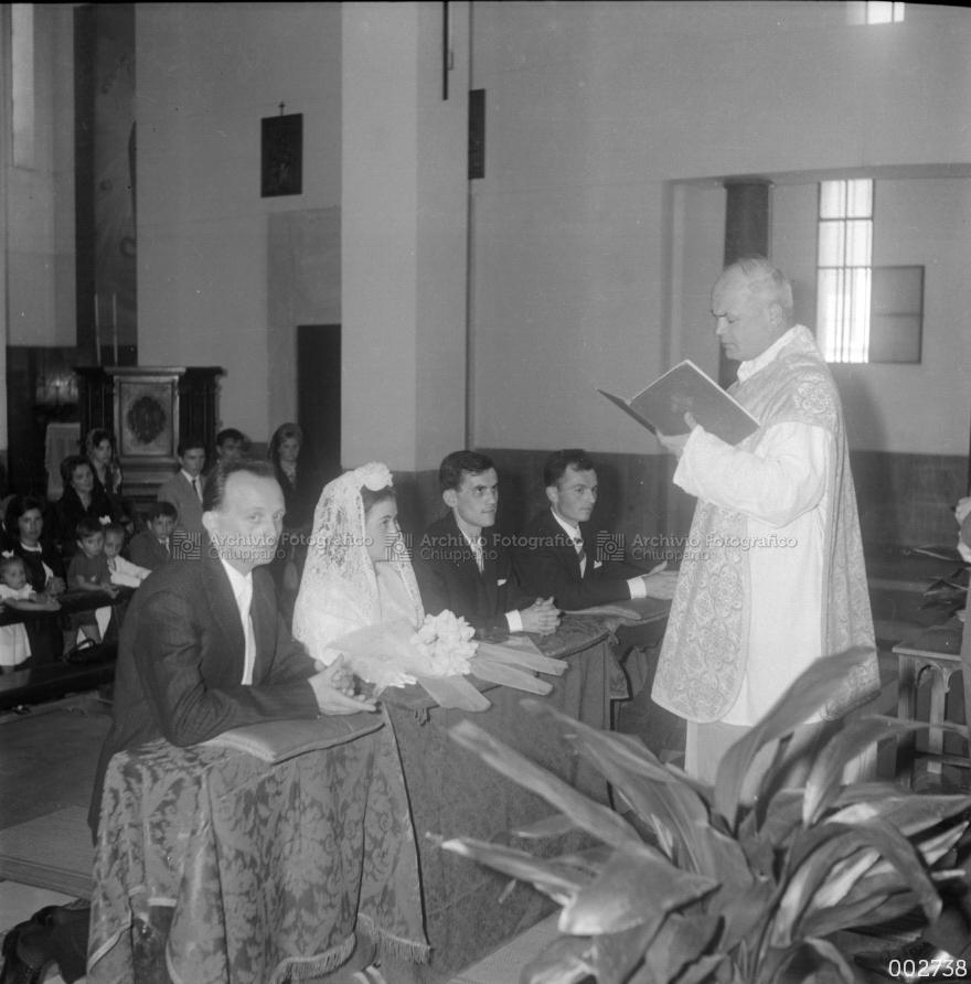 Matrimonio di Brazzale Armando con Dal Santo Annibalina