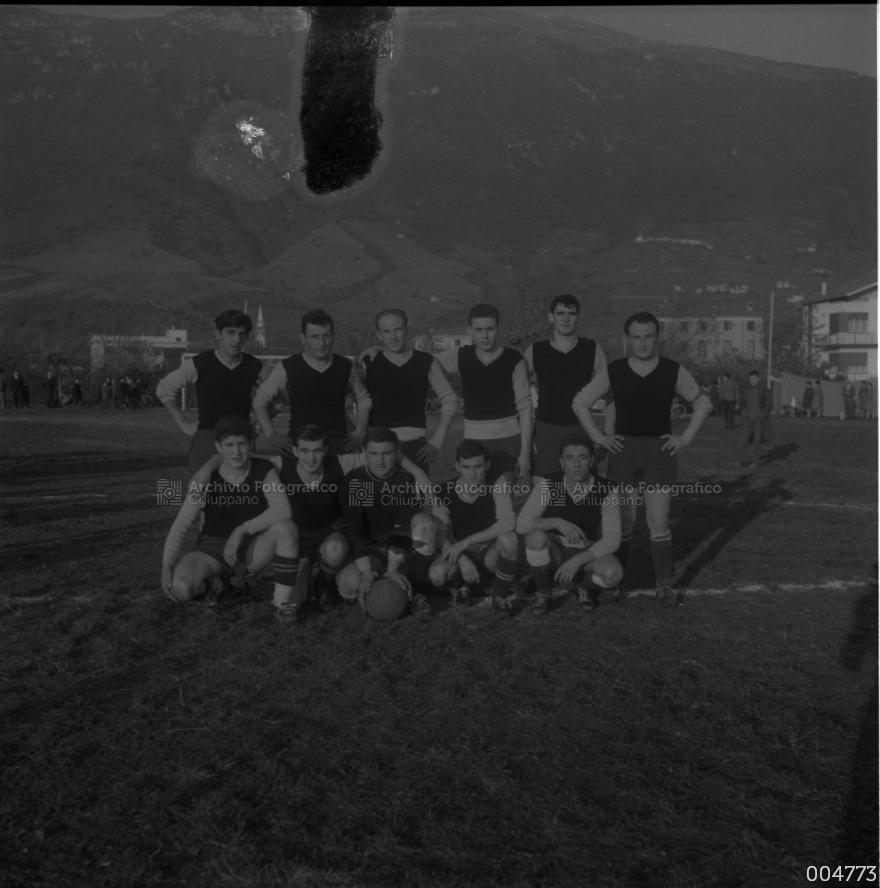 I protagonisti del vittorioso campionato del 1961-62