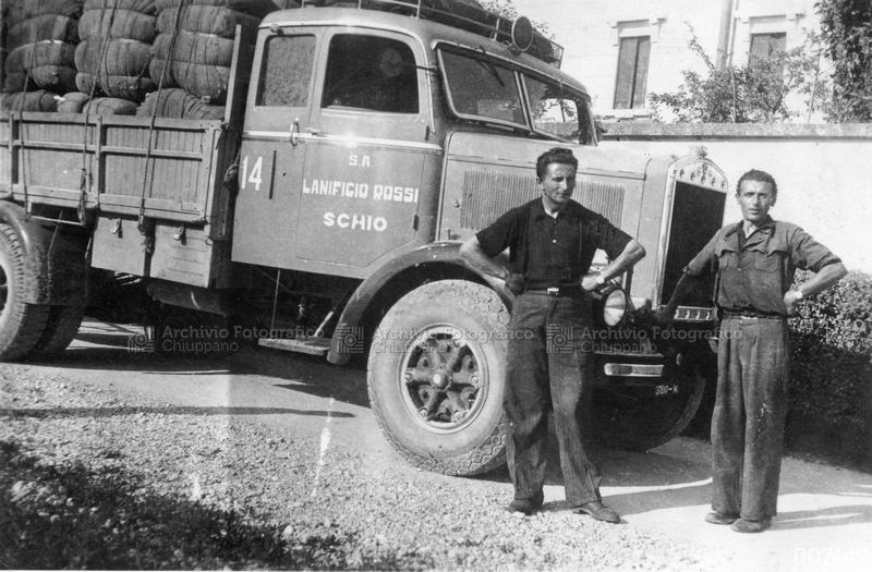 Ritratto di trasportatori del Cotonificio Rossi